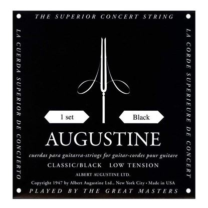 Augustine Black Classical Guitar Strings - Low Tension