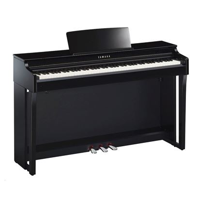 Yamaha CLP625PE Clavinova Digital Piano with Seat - Polished Ebony