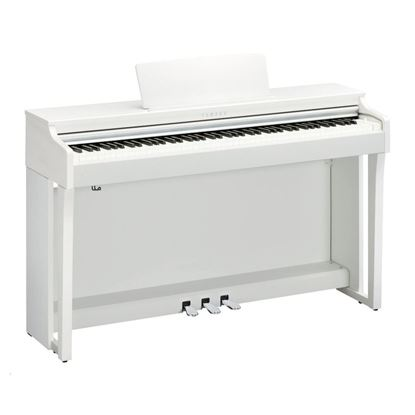 Yamaha CLP625WH Clavinova Digital Piano with Seat - White