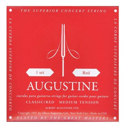 Augstine Red Classical Guitar Strings - Medium Tension