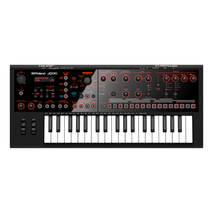 Roland JD-Xi Interactive Analogue Digital Crossover Synthesizer - top view