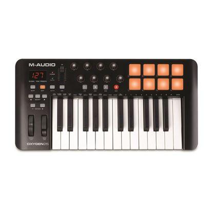 M-Audio Oxygen 25 MKIV USB/MIDI Keyboard Controller (w Drum Pads)