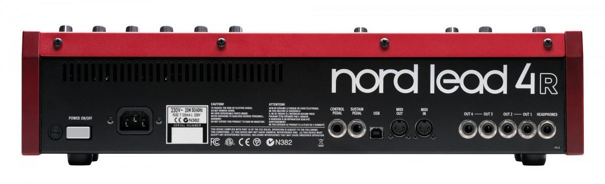 Nord Lead 4R Performance Synthesizer (Module Rack Version)