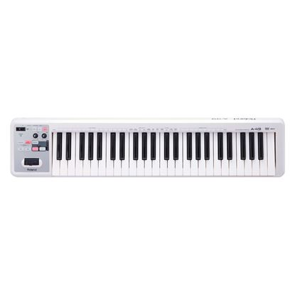Roland A-49 MIDI Keyboard Controller, White - 49 Keys (A49)