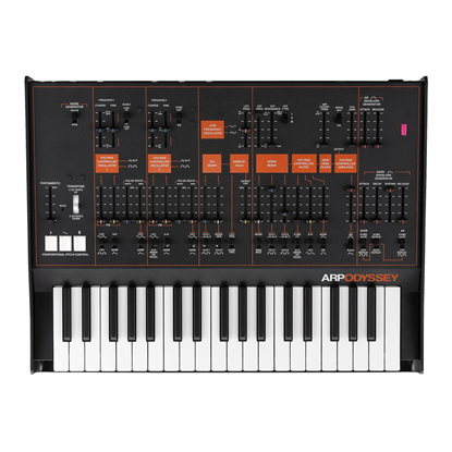 Korg Arp Odyssey Synthesizer (Grey/Orange)