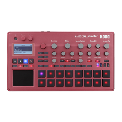 Korg Electribe 2 Music Production Sampler - Red