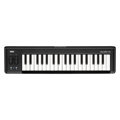 Korg microKEY Air-37 Bluetooth MIDI Controller Keyboard (37 Keys)