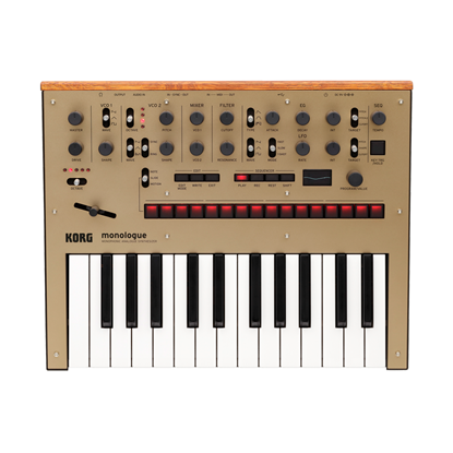 Korg monologue Monophonic Analogue Synthesizer Gold