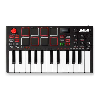 Akai MPK Mini Play Standalone Keyboard and MIDI Controller with Sounds and Speaker top