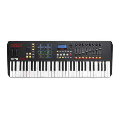 Akai MPK261 Performance Keyboard Controller (61 Keys) - Top