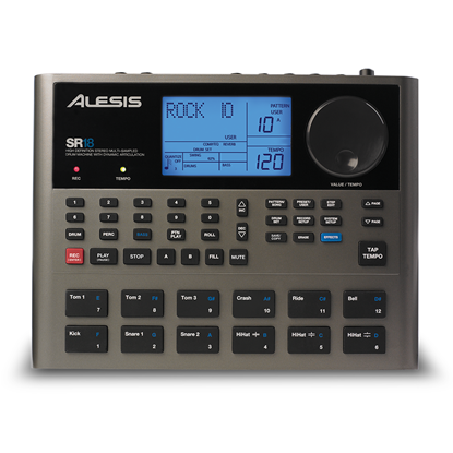 Alesis SR-18 Portable Drum Machine with Effects (SR18)
