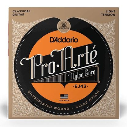 D''Addario EJ43 Pro-Arté Nylon Classical Guitar Strings, Light Tension - Front