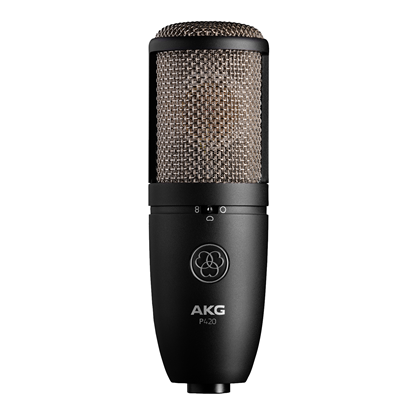 AKG P420 High Performance Dual-Capsule True Condenser Microphone (P-420)