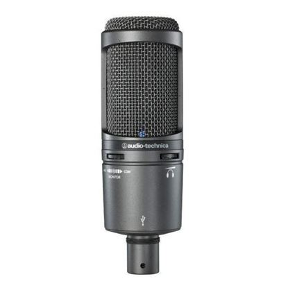 Audio Technica AT2020USB+ Large Diaphragm Condenser USB Microphone