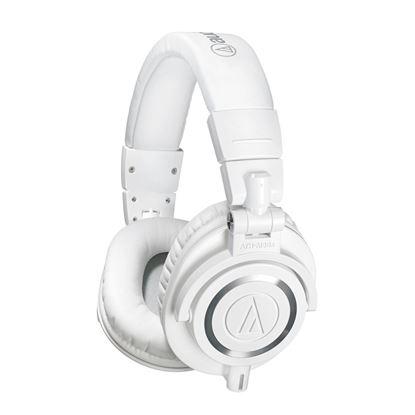 Audio-Technica ATH-M50x Studio Monitor Headphones White (ATHM50XWH)