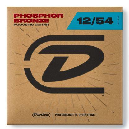 Dunlop DAP12 Phosphor Bronze Acoustic Guitar Strings - Light 12-54 - Front