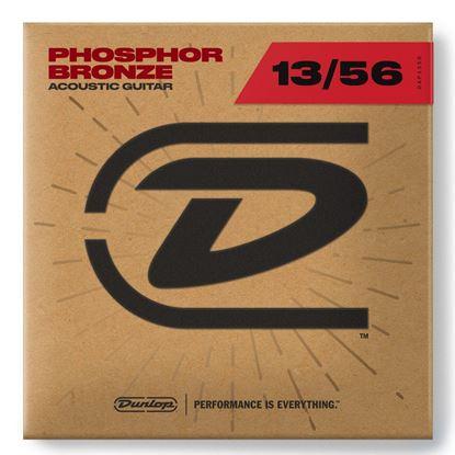 Dunlop DAP13 Phosphor Bronze Acoustic Guitar Strings - Medium 13-56 - Front