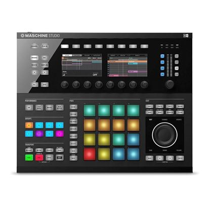 Native Instruments Maschine Studio - Flagship Groove Production Studio - top view