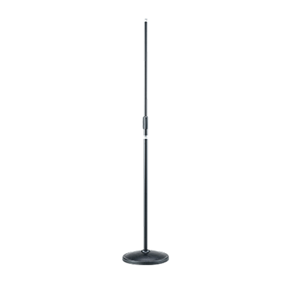 Tama MS200D Microphone Stand - Straight Round Base Black