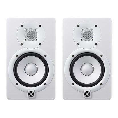 Yamaha HS5 5 Inch Active Studio Monitors (Pair, White)