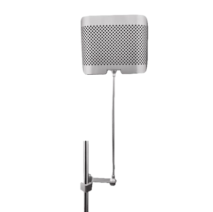 AVE Vox-Barrier SM Vocal Booth with Gooseneck - Small - Front