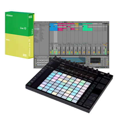 Ableton Push 2 with Ableton Live 10 Intro