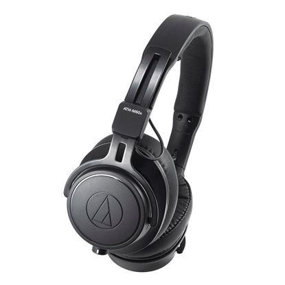 Audio-Technica ATH-M60x Studio Monitor Headphones Black (ATHM60X)