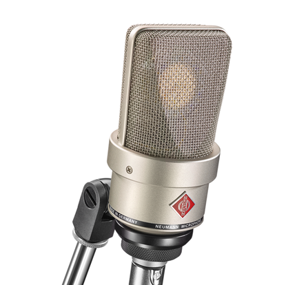 Neumann TLM103 Condenser Microphone in Wooden Box with SG2 Swivel Mount - Nickel