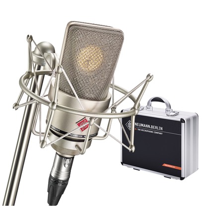 Neumann TLM103 Mono Studio Set Condenser Microphone in Aluminium Case - Nickel