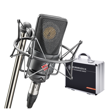 Neumann TLM103MT Mono Studio Set Condenser Microphone in Aluminium Case - Black