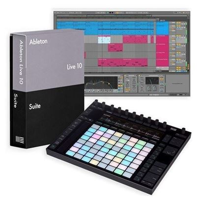 Ableton Push 2 with Live 10 Suite Upgrade from Live Intro with Max4Live