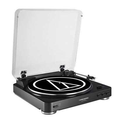 Audio-Technica LP60-USB Belt Driven USB Turntable - Black