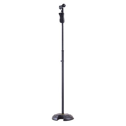 Hercules MS201B Microphone Stand w/ Quik-N-EZ Height Adjustment