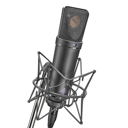 Neumann U87 Ai MT Studio Set Condenser Microphone with Shock Mount - Black