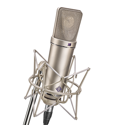 Neumann U87 Ai Studio Set Condenser Microphone with Shock Mount - Nickel