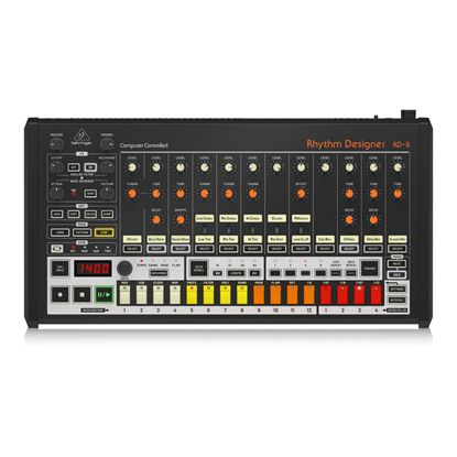Behringer RD8 Rhythm Designer Drum Machine - Top