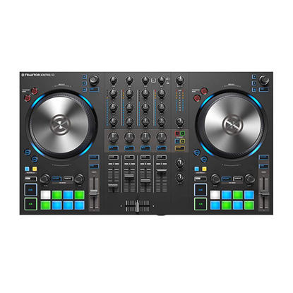 Native Instruments Traktor Kontrol S3 4-channel DJ controller -Top