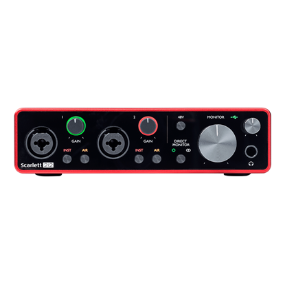 Focusrite Scarlett 2i2 3rd Gen Audio Interface Front