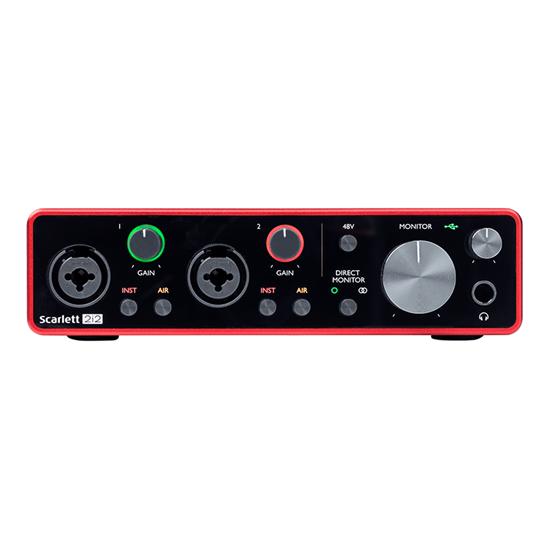 Focusrite Scarlett 2i2 3rd Gen Audio Interface Front