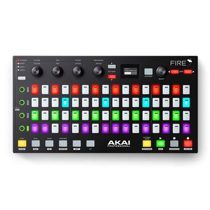 Akai Fire FL Studio Controller - top view