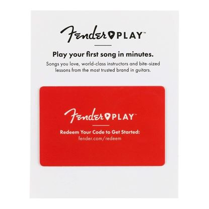 Fender Play 3 Month Subscription Card