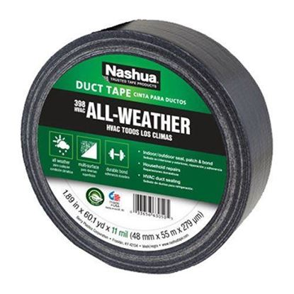 Nashua 398 Cloth Gaffa 25m (48mm) Black