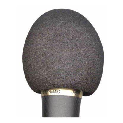 Australasian 178 Foam Mic Windshield for Normal Size Microphone - Black
