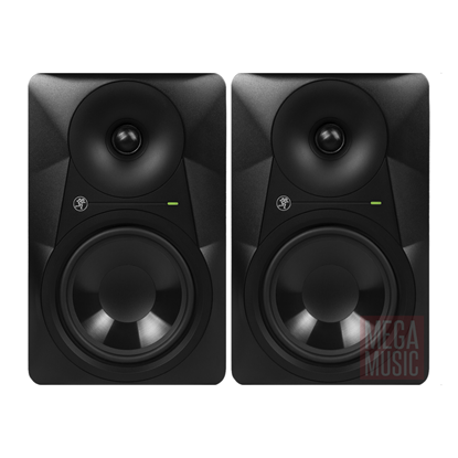 Mackie MR624 6 inch Powered Studio Monitors - (PAIR) - Front