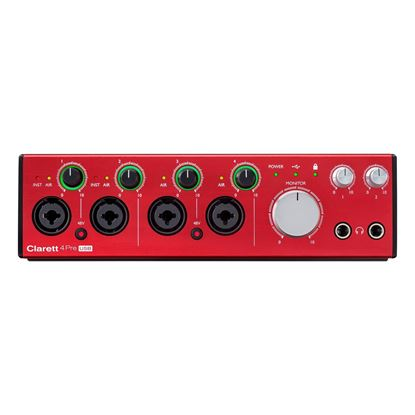 Focusrite Clarett 4Pre USB Audio Interface