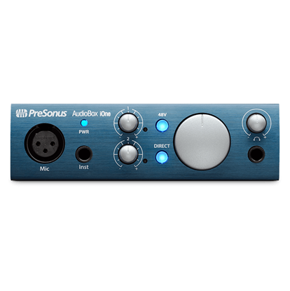 Presonus AudioBox iOne 2x2 USB 2.0 iPad Interface - Front