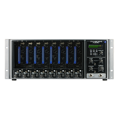 Cranborne Audio 500R8 - 28-In / 30-Out USB Interface / 500 Rack - Front