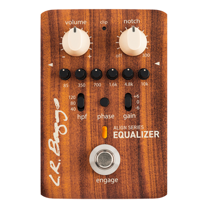 LR Baggs Align Series Equalizer Acoustic Guitar Effects Pedal