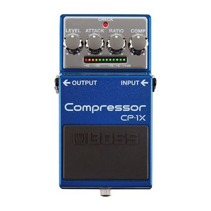 Boss CP-1X Compressor Pedal (Guitar Effects Pedal CP1X)