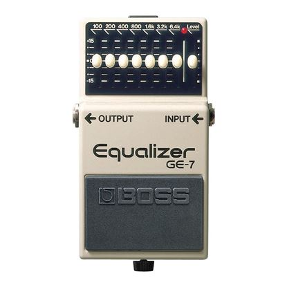 Boss GE-7 Graphic EQ Guitar Effects Pedal